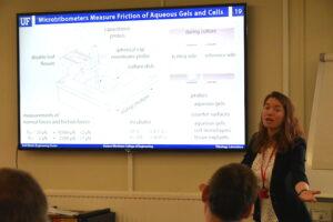 Angela Pitenis - Ingram tribology launch event