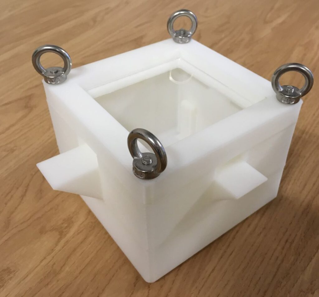3D printed box photo - Ingram Tribology Ltd